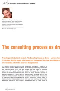 2004_The Consulting process as drama