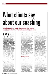 2011_TJ_What clients say about our coaching