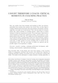2008_Consulting Psychology Journal_I doubt-coach