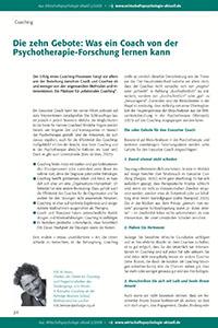 2008_Wirtschaftspsychologie_aktuell_Zehn Gebote