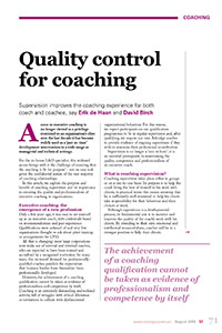 2010_Quality Control_coaching