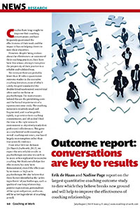 2013_News research_Outcome report_conversations are key to results